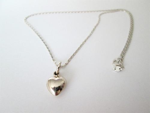 collar cadena dije plata 950 k mujer regalo amor oferta