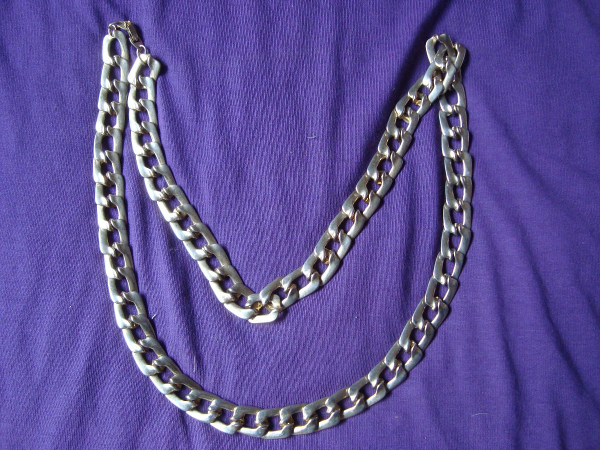 e3c6ae998be4 collar cadena francés eslabon tipo chanel largo en. gratis. Cargando zoom.