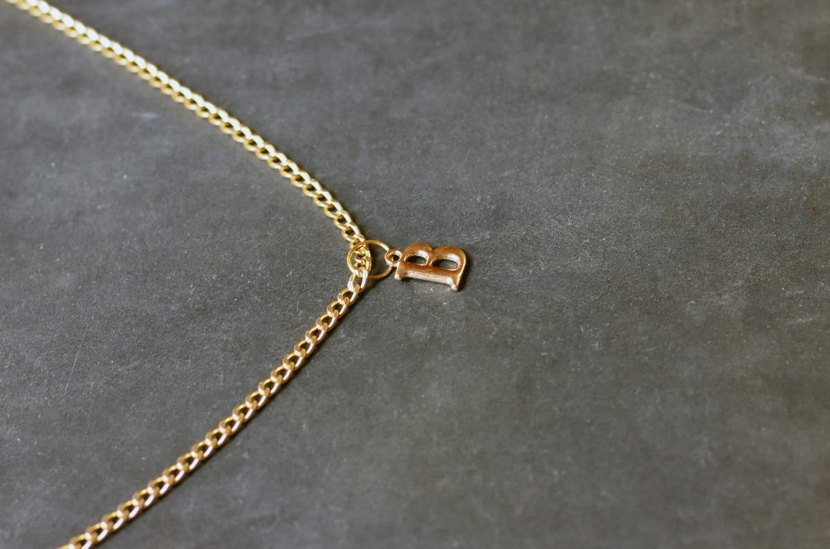 95e202e02d8c collar cadena letra b mayoreo dije moda bisuteria barato. Cargando zoom.