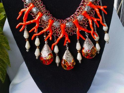collar cadena medieval - mayma queens bijou
