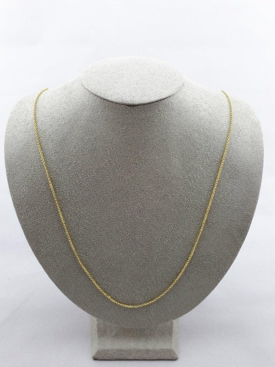 2a0861aa77b3 Collar Cadena Tipo Ancla En Cobre Con Baño De Oro -   129.00 en ...