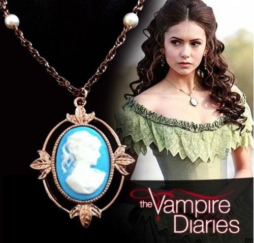 collar camafeo katherine vampire diaries