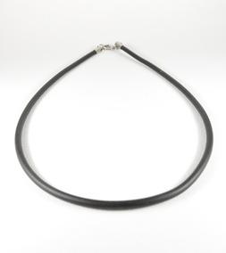 f5f09438d46f Collar Caucho Hombre Liso 3mmx55cm