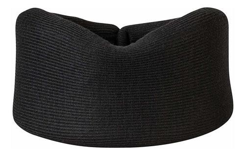 collar cervical de espuma, negro - 3