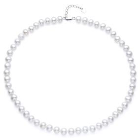 f72ee8de1202 Collar De Perlas Blanca Y Linga en Mercado Libre Uruguay
