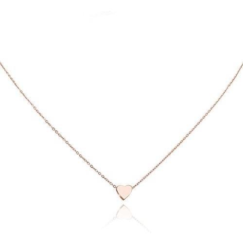 d5e9284c425e Collar Colgante Con Forma De Corazón Para Mujer Mini Collar