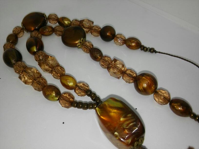 a48893977a3e Collar Colgante Piedras Importadas Carey Ojo Gato Envio Grat -   750 ...