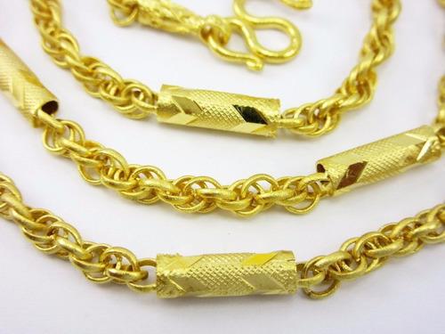 collar combinación tailandés 22 1/2  22k, envío gratis