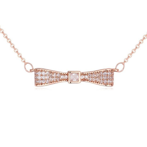 collar con cristales, ocean heart oh16-858