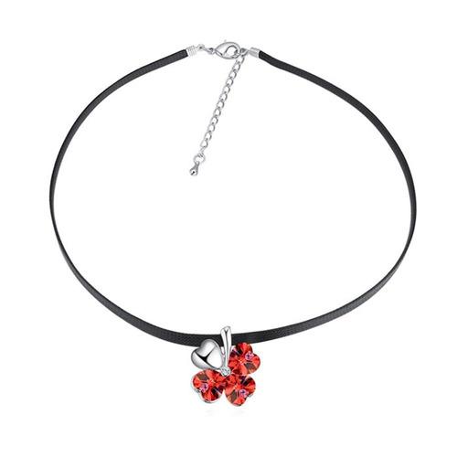 collar con cristales, ocean heart oh17-121