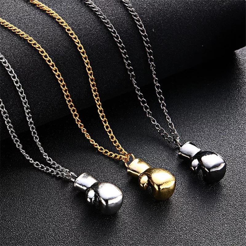 b48117df589e Collar Con Guante De Box Muy Hermoso Gran Calidad De Moda -   100.00 ...