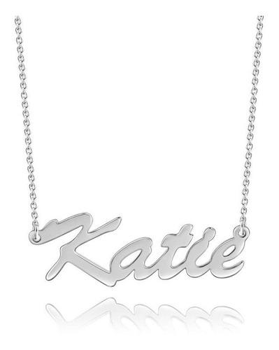 collar con nombre plata 950