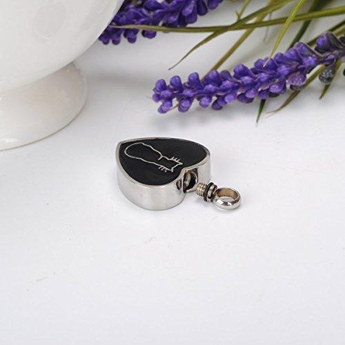 collar conmemorativo de la urna del gato de gato en la joy