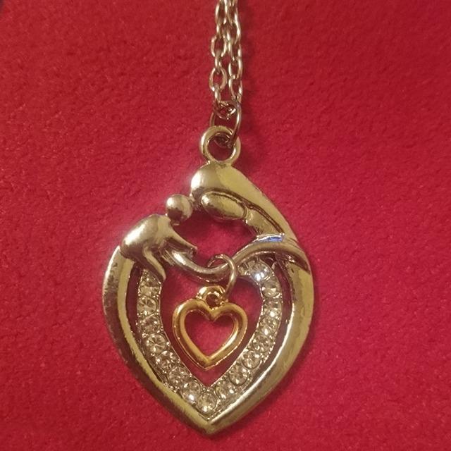 96726ed08d51 Collar Corazón Colgante Joya Plata