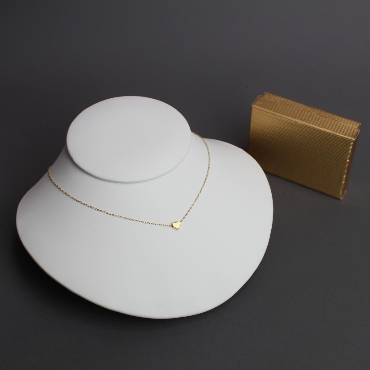 c2f51af11df2 Collar Corazón Mini Chapa De Oro De 22k -   255.00 en Mercado Libre