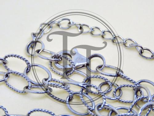 collar corazón perla natural plata esterlina 925