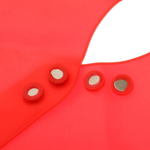 collar corte silicona magnético cuello escudo capa barbero
