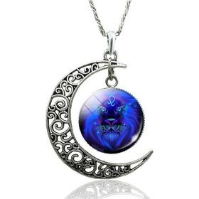 Collar Cristal Signos Zodiaco Constelación Para Mujer Hombre