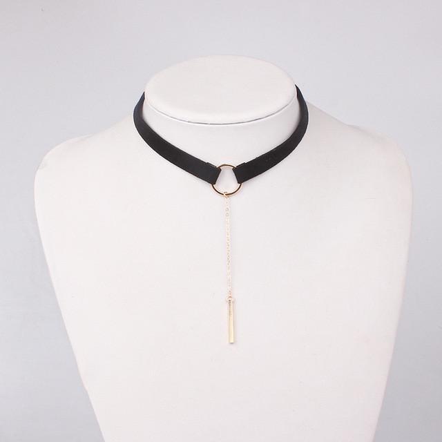 2cd5e4bfd97f Collar Cuello Redondo Colgante Para Mujer -   20.280 en Mercado Libre
