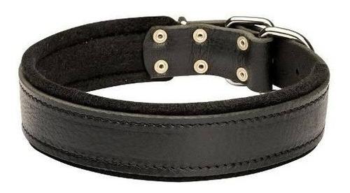 collar cuero perro 3,5 x 70 cm pethome