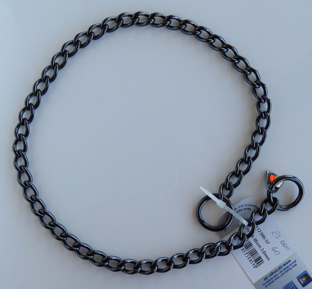 d1278be2c6dd Collar De 54 Cm Acero Inox. Negro Herm Sprenger 51112 -   24.500 en ...