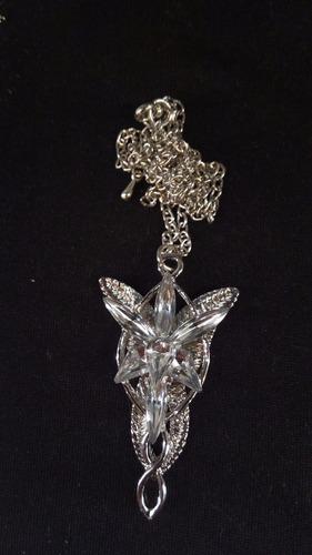 collar de arwen - lord of the rings - señor de los anillos