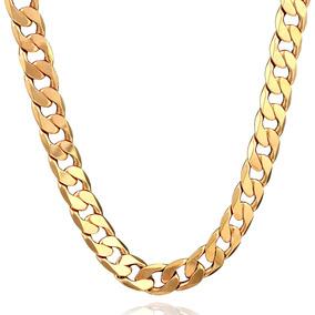 6848437f9ab6 Cadena Oro Blanco Hombre - Joyería Collares y Cadenas Oro Sin Piedras en Mercado  Libre Chile