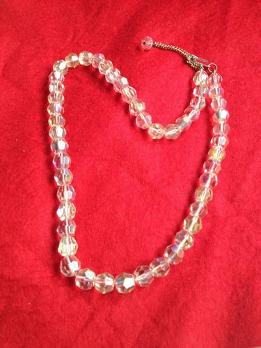 collar de cristal  de  austrial tornasol