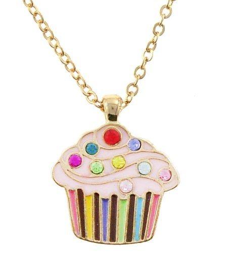 Collar De Cupcake Para Niños (los Colores Pueden Variar) - $ 132.100 ...