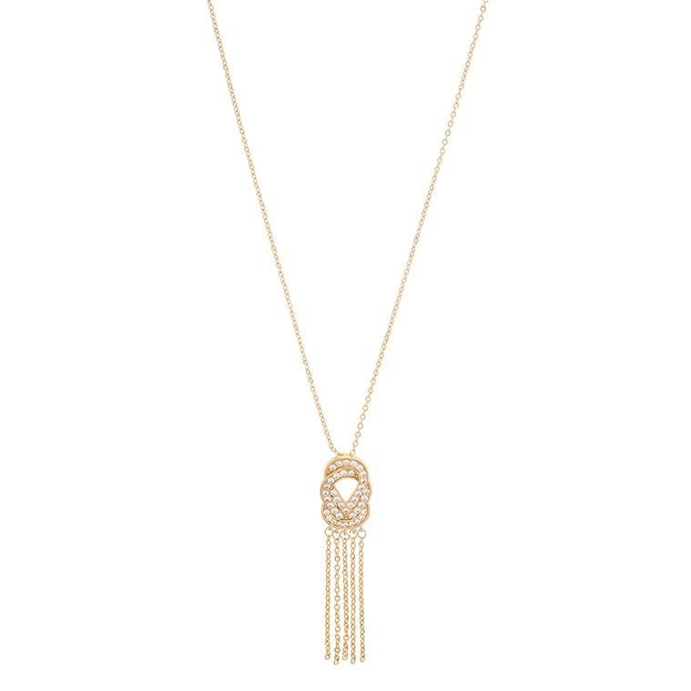 9a7fa7ca2303 Collar De Dama Con Baño De Oro Y Cristales Nice 119034l -   620.00 ...