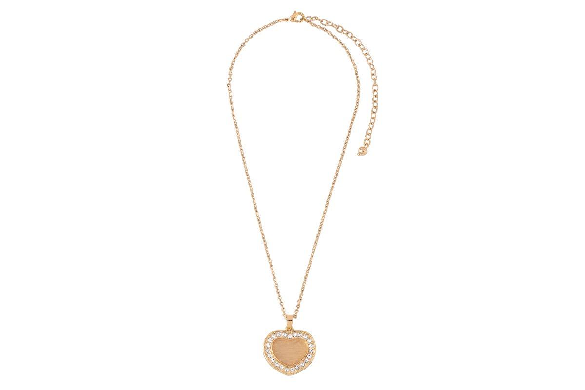1485fff3d5c8 collar de dama con dije baño de oro y cristales nice 119181. Cargando zoom.