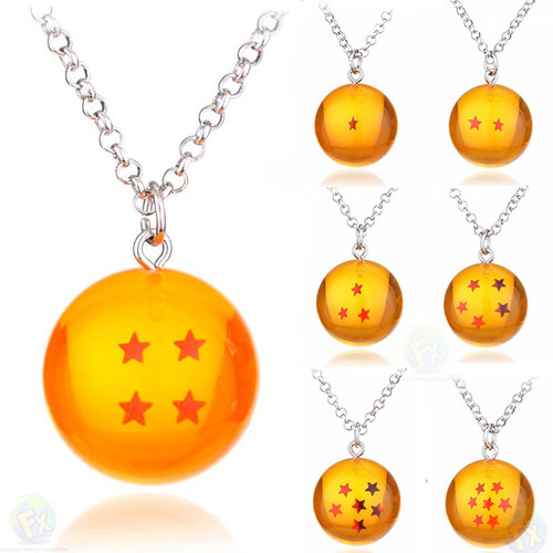 collar de esfera del dragon envio gratis dragon ball  goku z