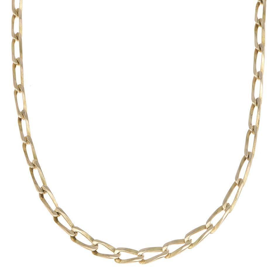 aa79df75990d Collar De Eslabón Encontrado En Oro Amarillo.-123061664 - $ 13,200.00