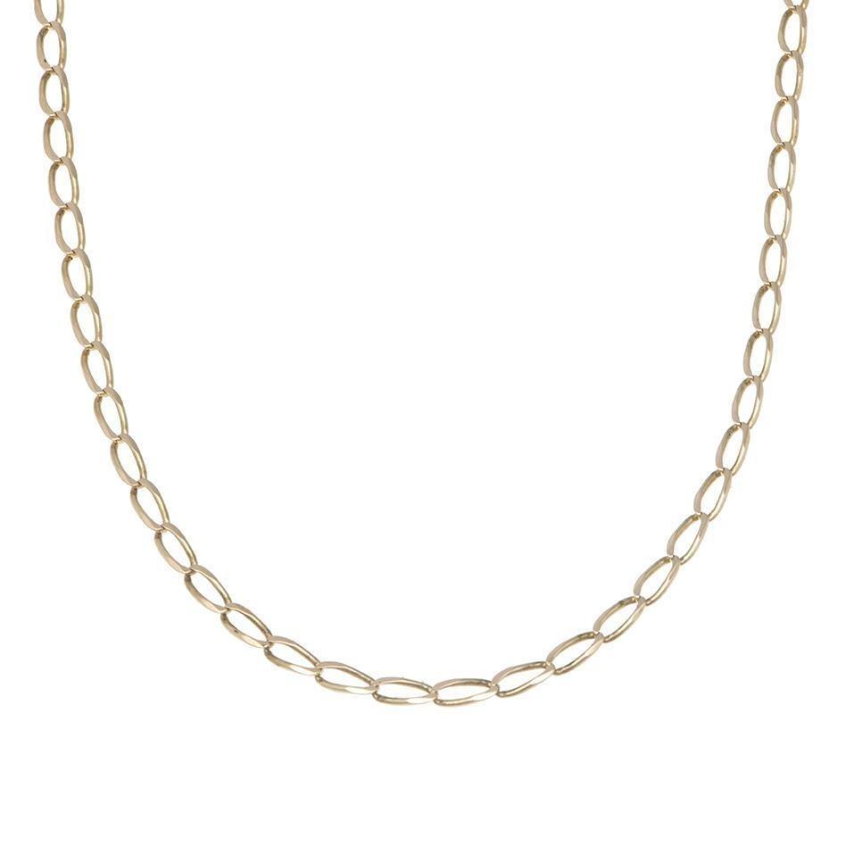 8c6970129897 Collar De Eslabón Encontrado En Oro Amarillo.-139409368 - $ 4,320.00