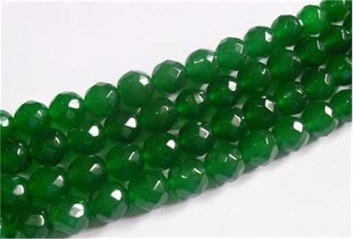collar de esmeraldas sin broche 4mm