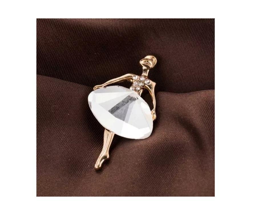 9cf22194a3c5 collar de moda bailarina de ballet cristal bisutería retro. Cargando zoom.