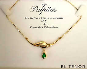 16f132a3177c Collar Esmeraldas Colombianas en Mercado Libre Argentina