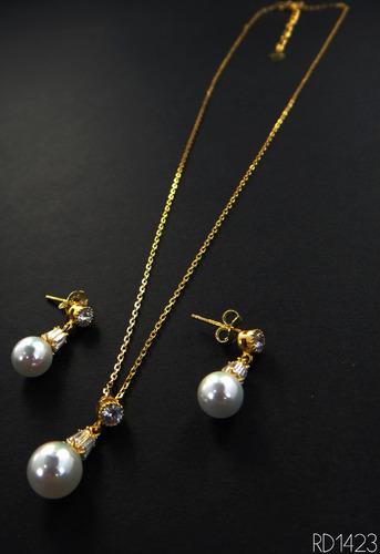 collar de perla