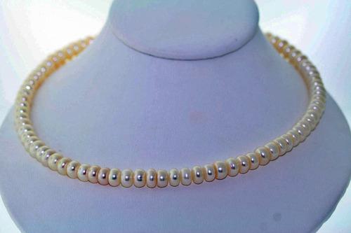 collar de perla akoya broche de plata 249.06 qts