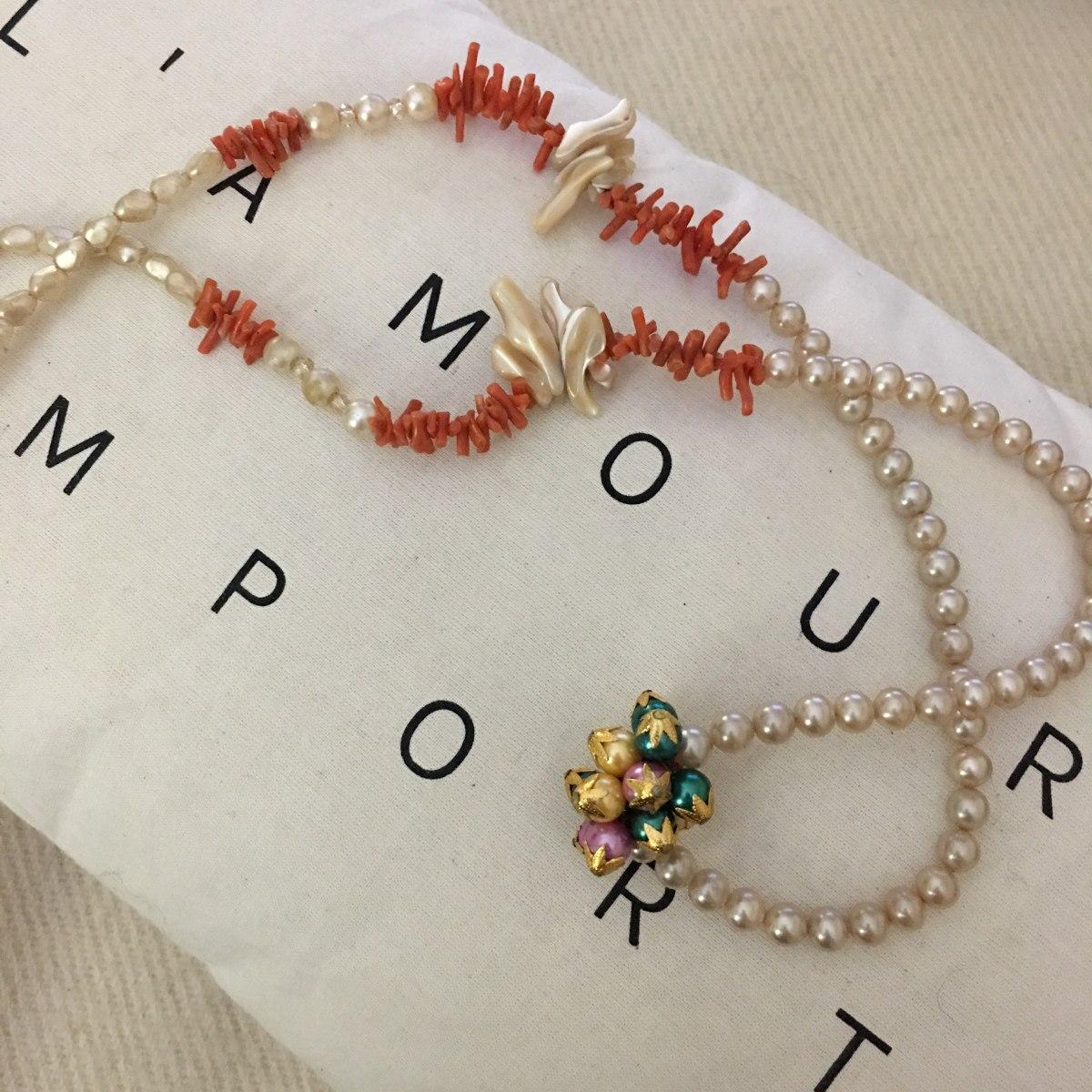 13036cc55943 Collar De Perlas Antiguas