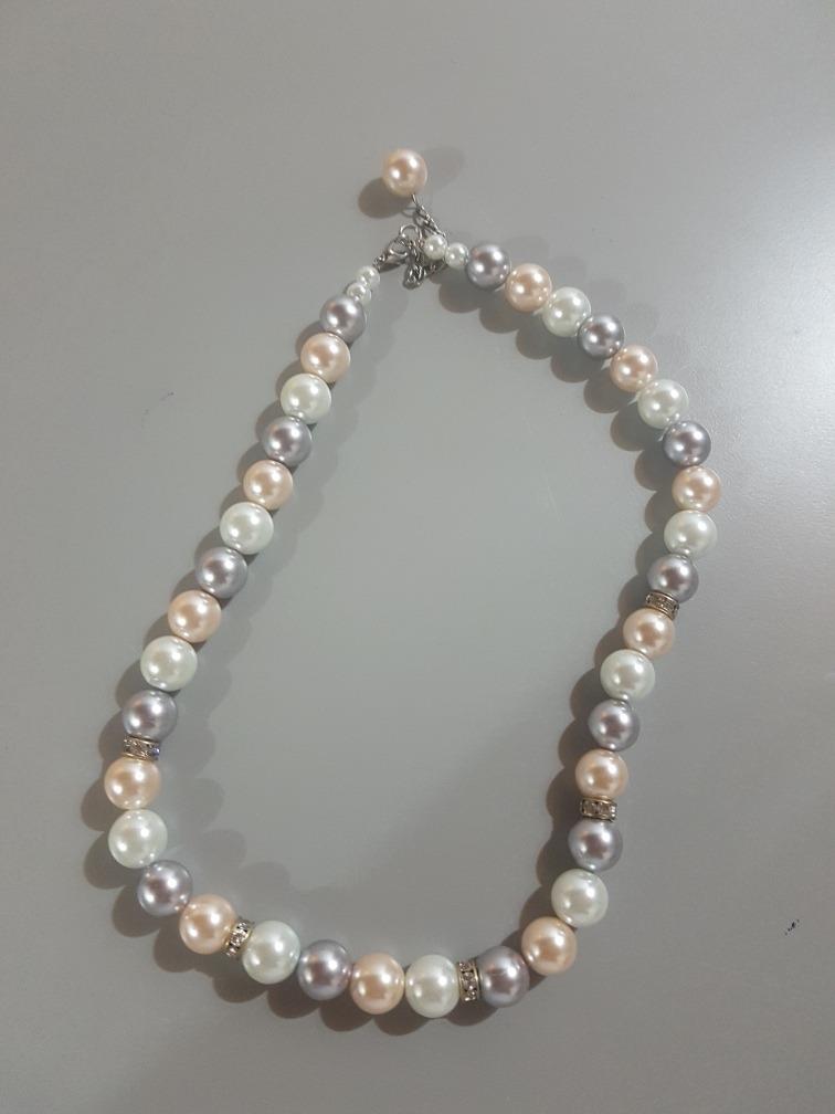fotos oficiales d5286 cd008 Collar De Perlas Bisutería