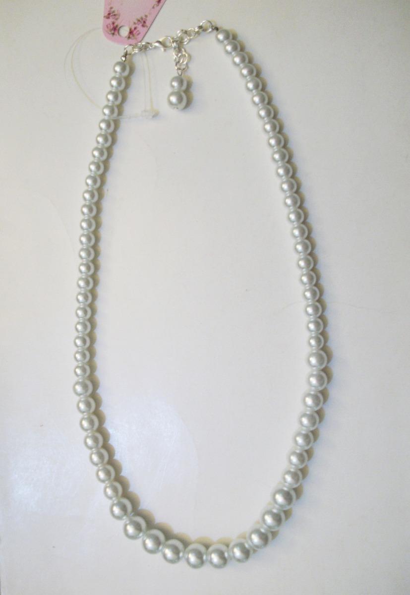 ee81b52569ee Collar De Perlas Blancas 2019 Q -   214