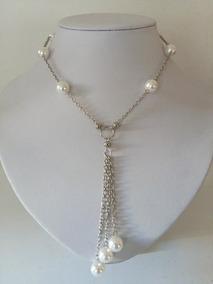 7991ebb79ab5 Collar De Perlas Con Cadena Larga Cp1cp1