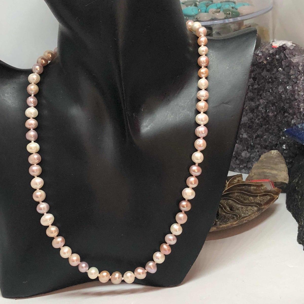acd30b2dde9c Collar De Perlas Cultivadas Akoya Reales Genuinas -   170.000 en ...