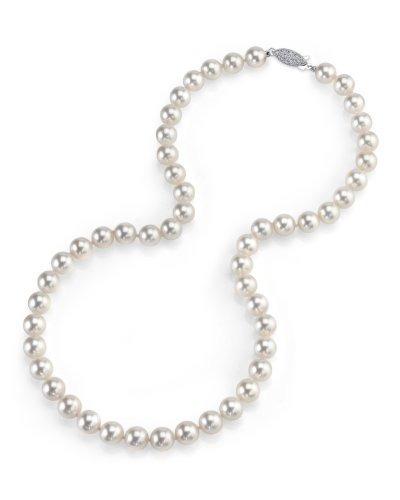 b476c45920ab Collar De Perlas Cultivadas De Agua Salada Akoya De 14 K Oro -   1.593.777  en Mercado Libre