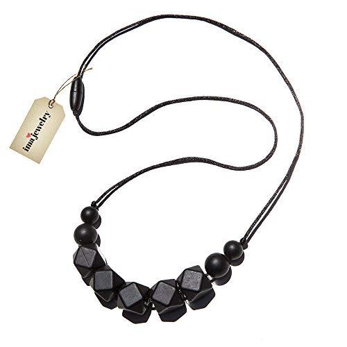 81141f8c28ed Collar De Perlas De Masticar Para Bebés Libre Bpa Silicona ...