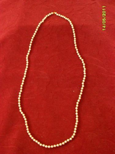 collar de perlas doradas en fantasia ¡¡¡¡¡hermoso!!!!