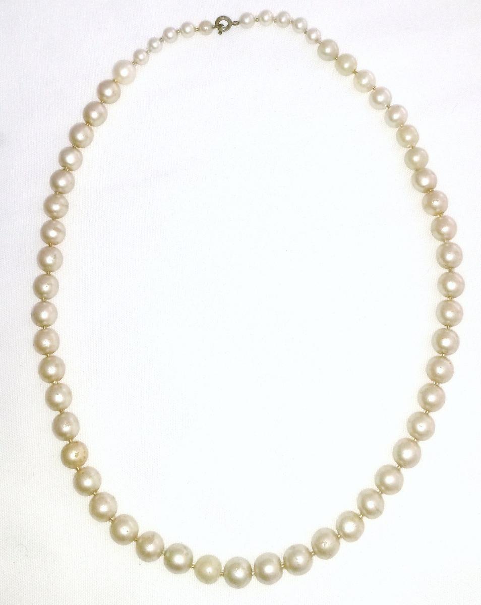 e0c9862aa1e0 collar de perlas fantasía antiguo. Cargando zoom.