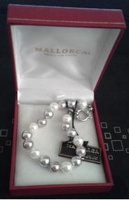 5b14a8891a29 Collar De Perlas De Mallorca Collares Y Cadenas - Joyería en Mercado ...