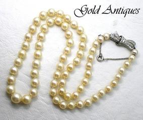 4a56c9ba193a Collar De Perlas Con Broche en Mercado Libre Argentina
